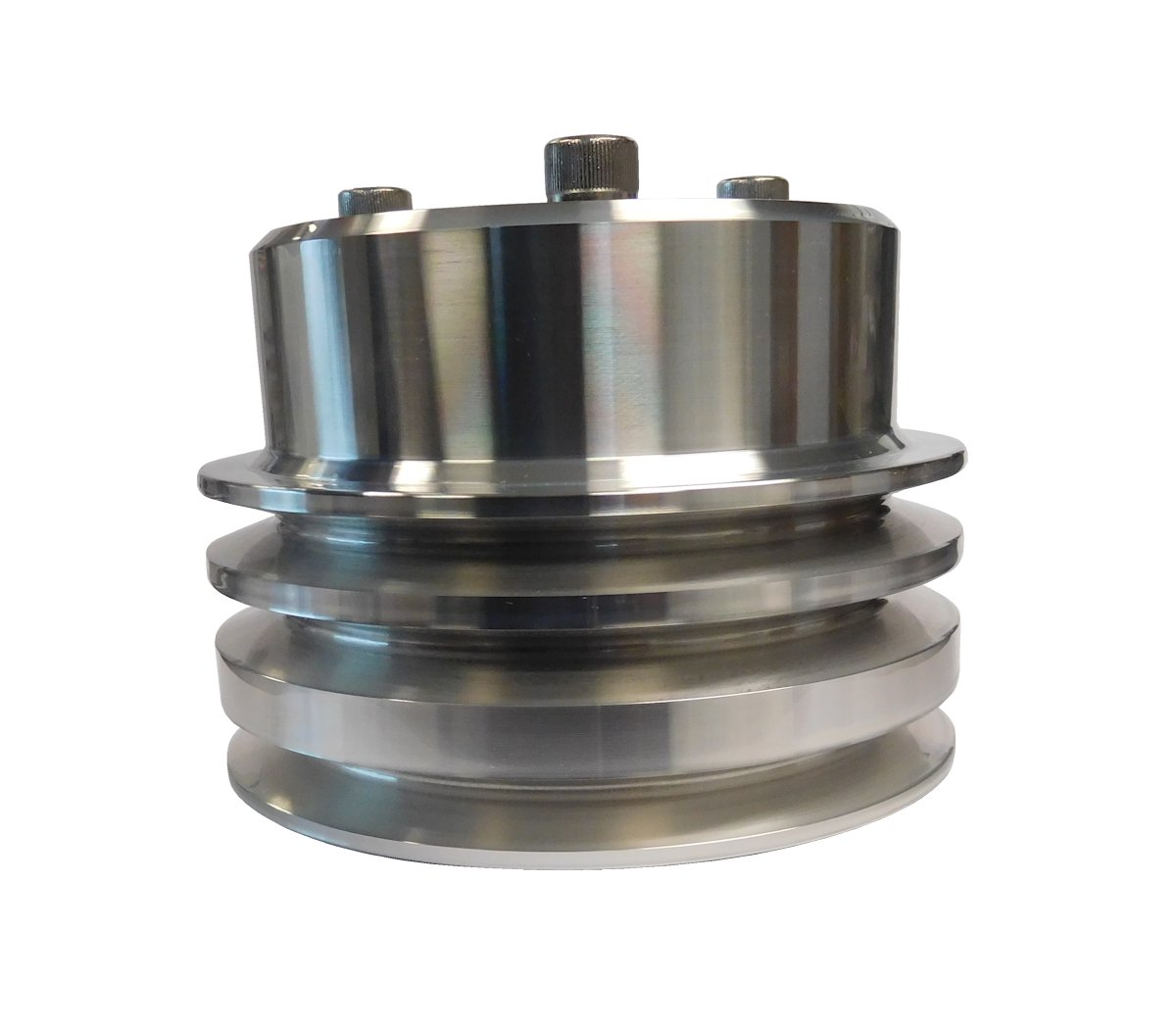 1966-1977 Ford Bronco Polished Aluminum Crankshaft Pulley