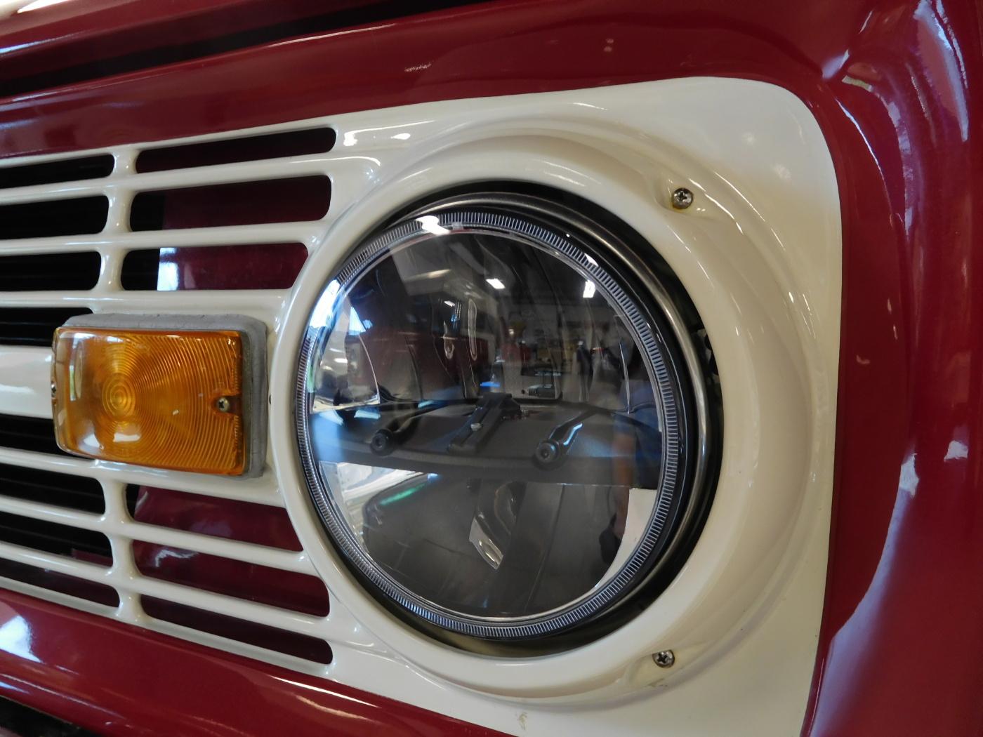 Ford F150 Headlights >> 1966-1977 Ford Bronco LED Projector Headlights-Broncograveyard.com