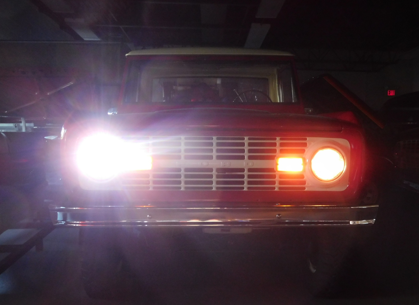1966-1977 Ford Bronco LED Projector Headlights ...