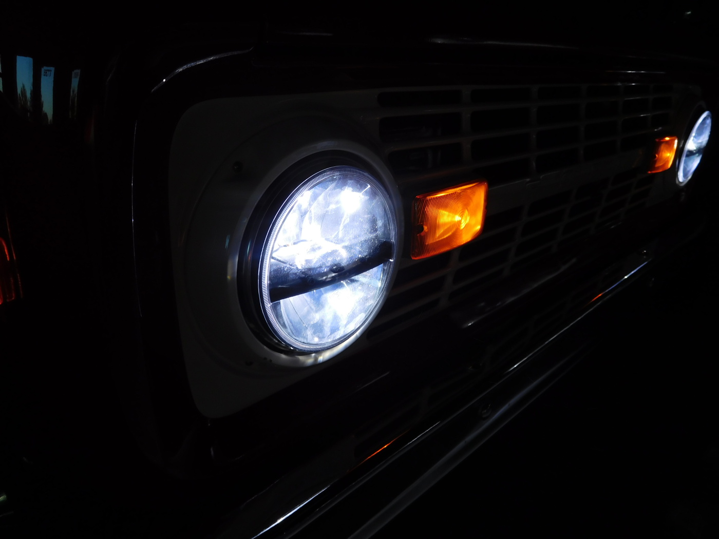 1966 1977 Ford Bronco Led Projector Headlights