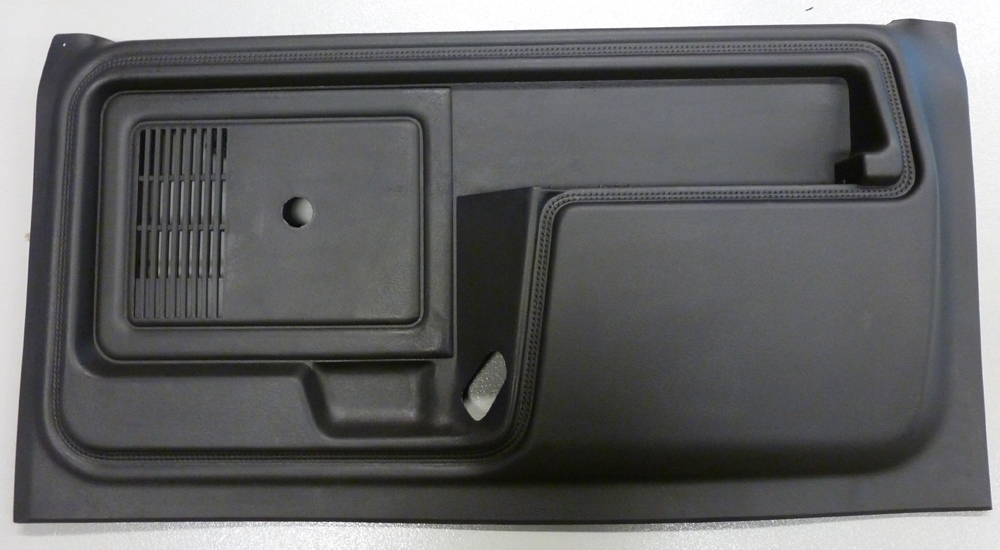 1980-1986 Ford Bronco and F-Series Truck Door Panels/No Power/Black & 1980-1986 Ford Bronco and F-Series Truck Door Panels/No Power/Black ...