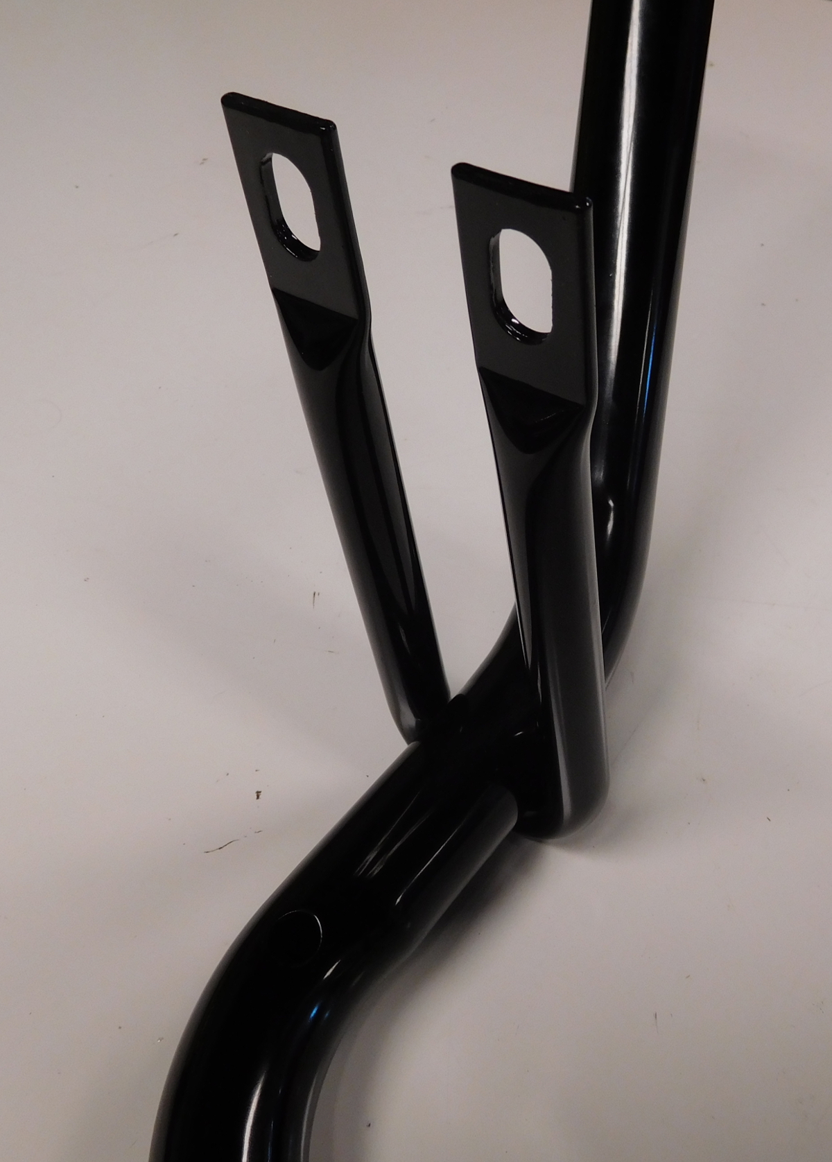 ford bronco  series truck running board support bars broncograveyardcom