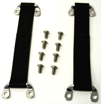Charmant 1966 1977 Ford Bronco Door Strap Pair With Stainless Steel Brackets