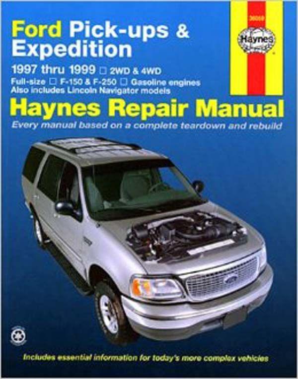 1997 2003 f150 expedition haynes manual broncograveyard com rh shop broncograveyard com Toyota Camry Manual Ford Expedition Parts Manual