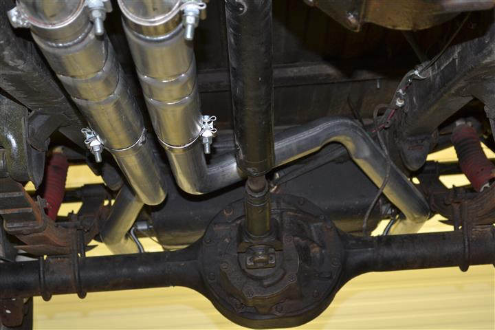289 302 Dual Exhaust System 2 5 Quot Manifolds