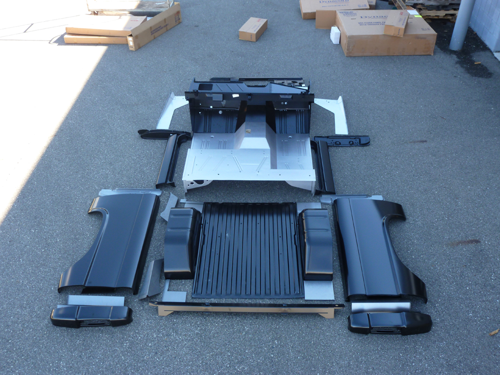 Ford Explorer Parts >> Ford Bronco Unassembled Body Tub Kit at Bronco Graveyard-Broncograveyard.com