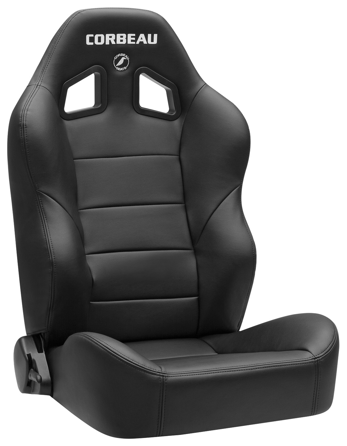 Corbeau Baja XRS Seat PAIR,Black Vinyl-Broncograveyard com