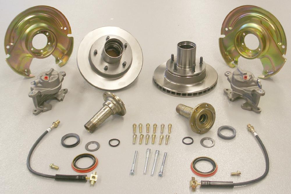 Bronco Front Drum to Disc Brake Conversion Kit Bronco