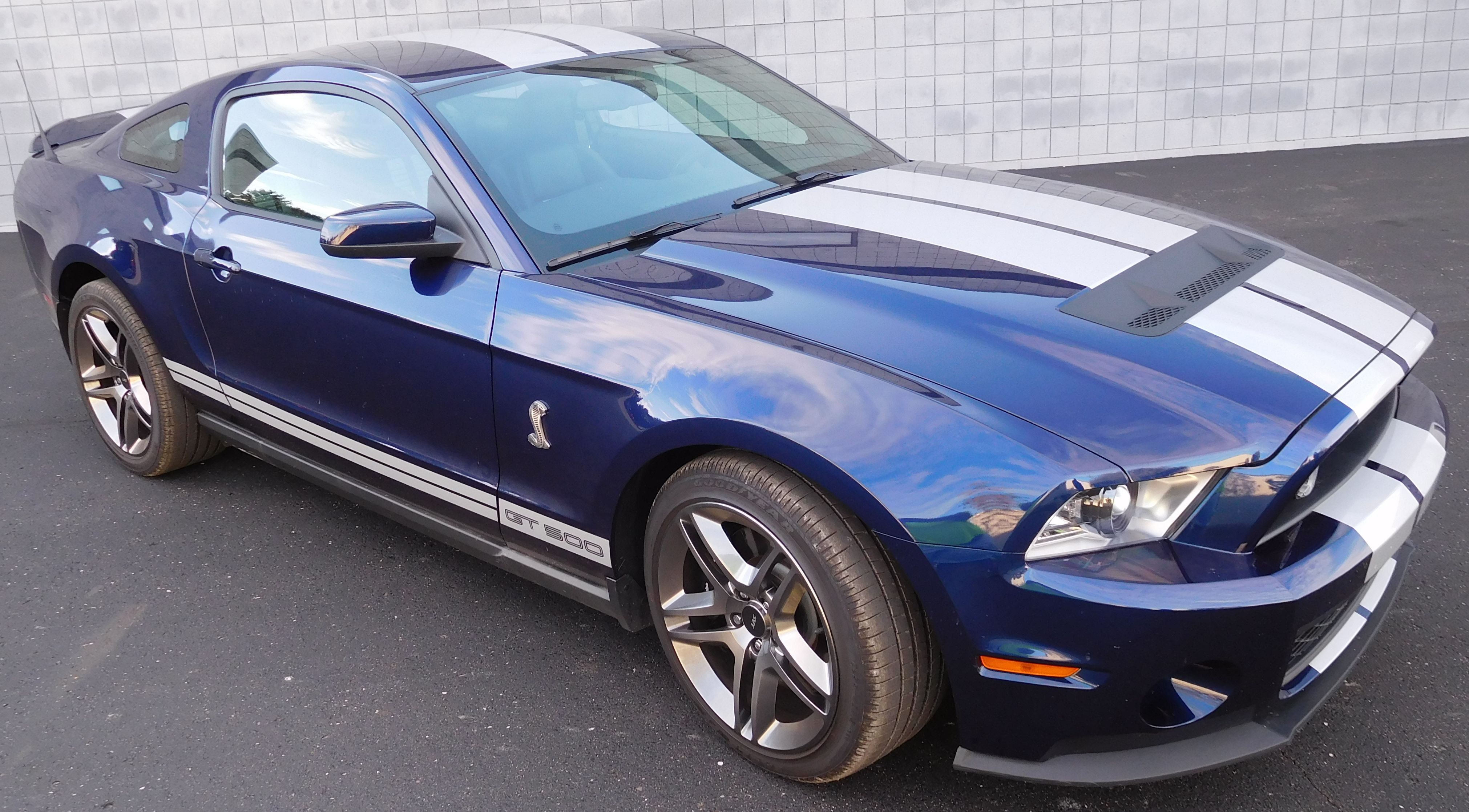 2011 Mustang Cobra GT500 Blue/White for sale ...
