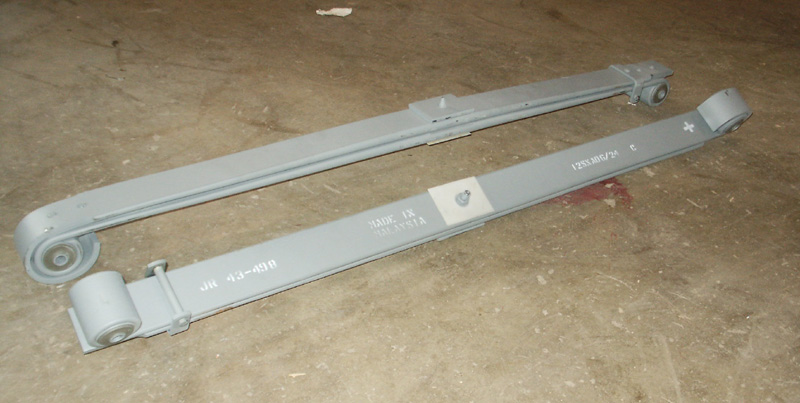 1980 1997 Ford F Series F250 Front Leaf Springs Stock Pair