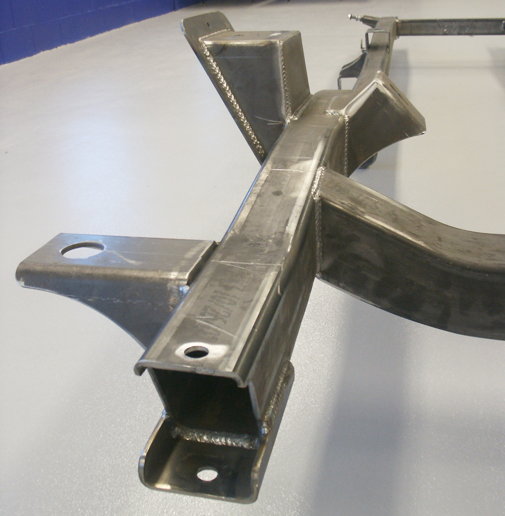 New Ford Excursion >> 1966-1977 Ford Bronco Mandrel Bent Frame at Bronco Graveyard-Broncograveyard.com