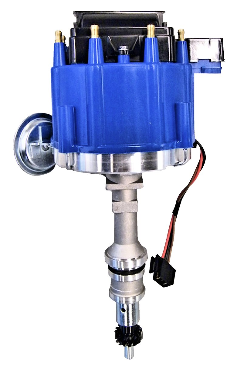 289 302 Hei Distributor Blue Cap Broncograveyardcom 1976 F100 Wiring Diagram