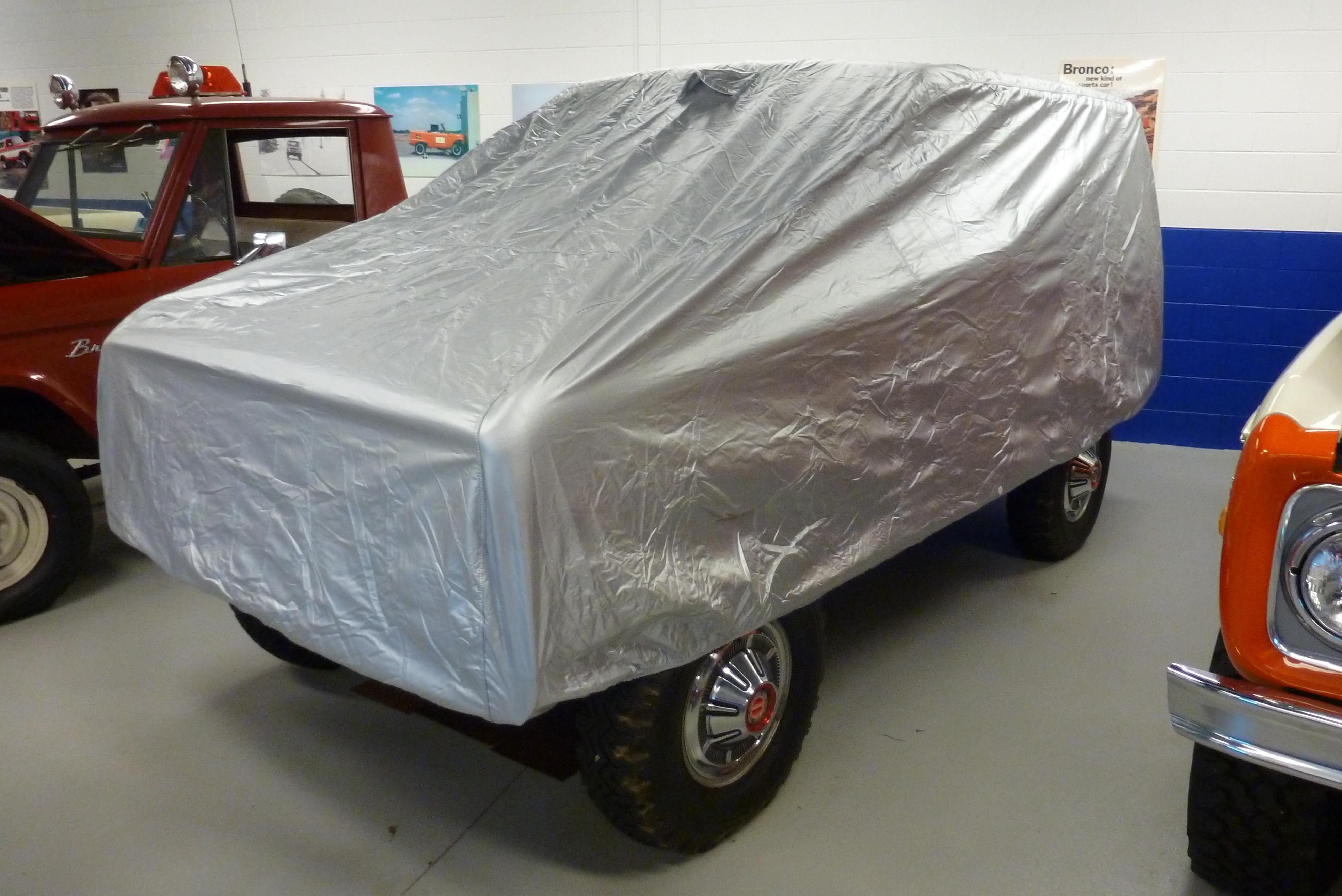 Ford Bronco Car Covers >> Ford Bronco Water Resistant Car Cover At Bronco Graveyard