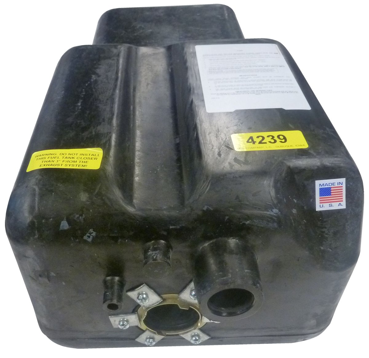 1966-1977 Early Ford Bronco Factory Auxillary Side Tank