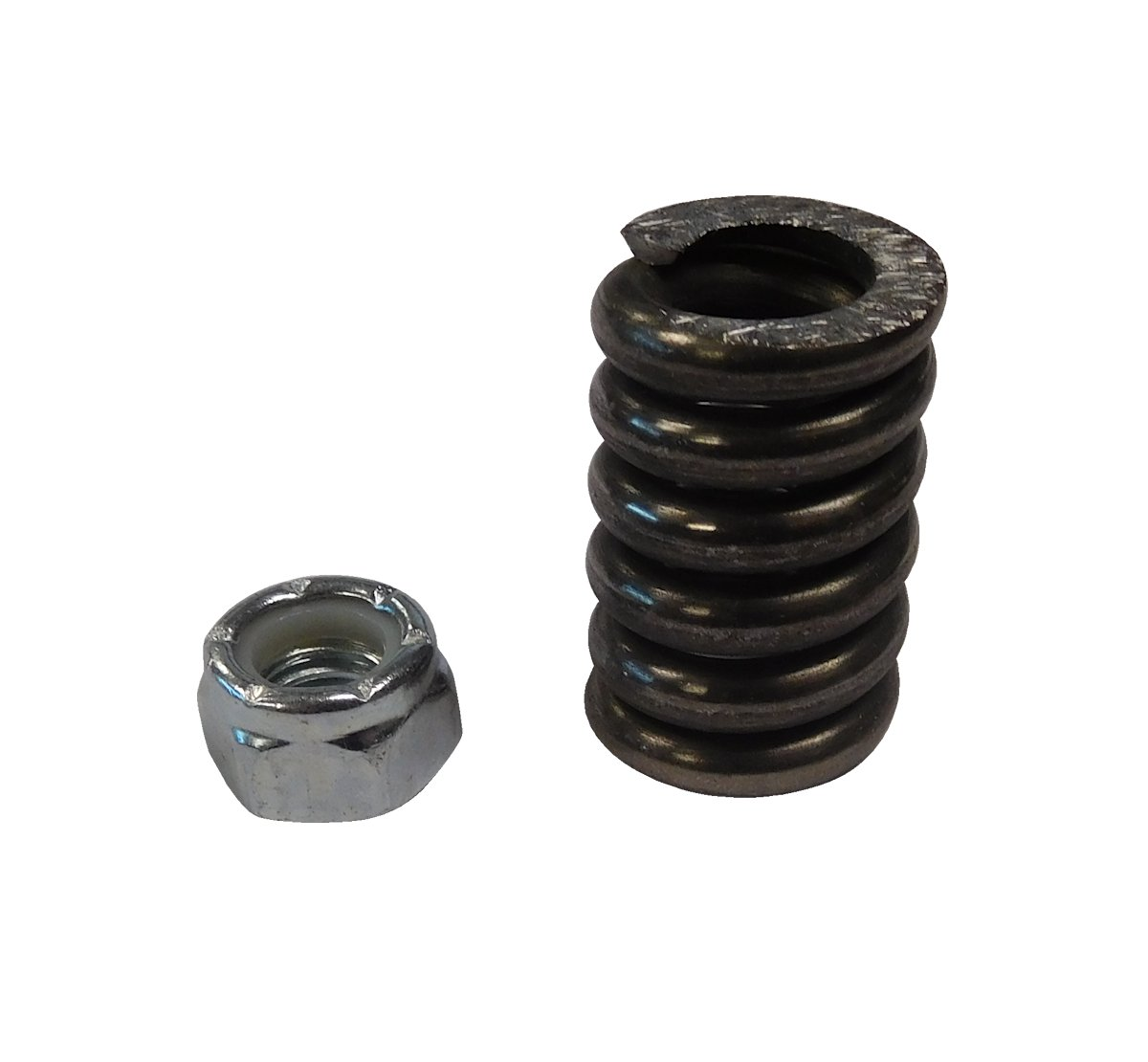 1966-1977 Ford Bronco Vent Window Pin Spring And Nut (One Side)