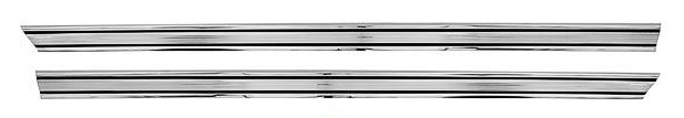 1966-1977 Ford Bronco Rocker Panel Trim