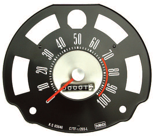 66-77 Ford Bronco Gauges