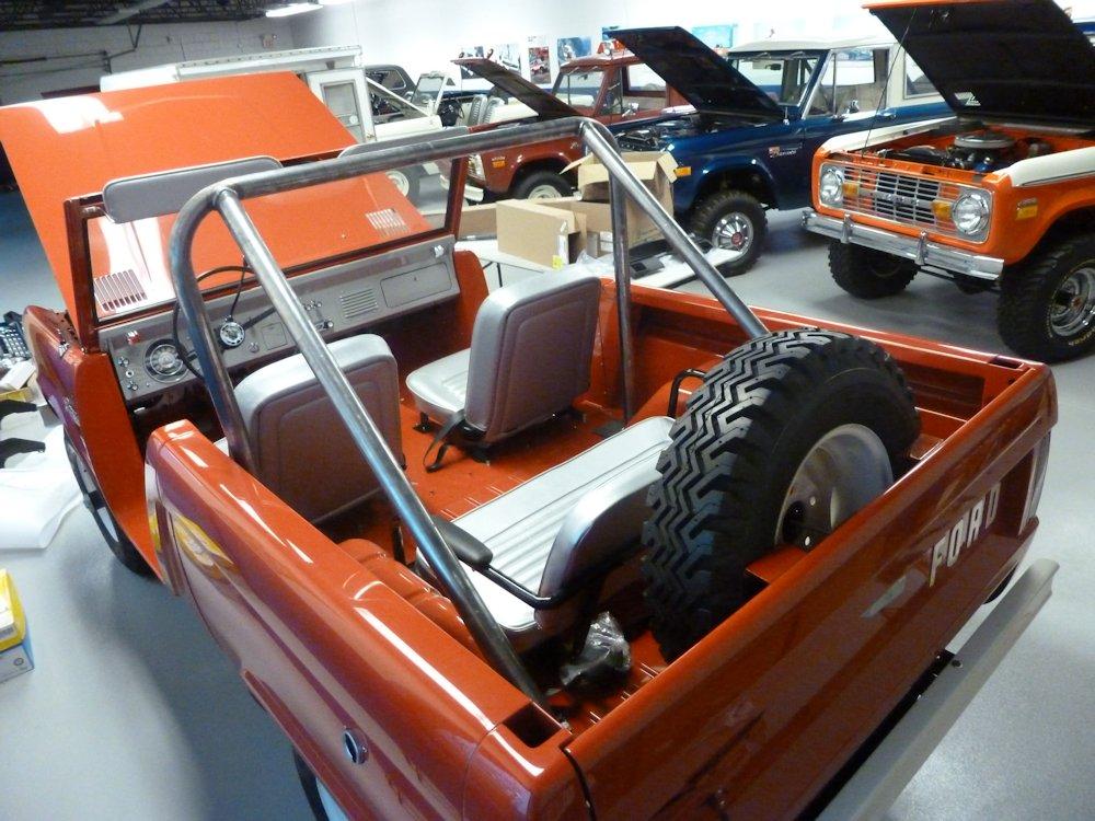 Bronco Interior Rear Roll Bar Cage Broncograveyard Com
