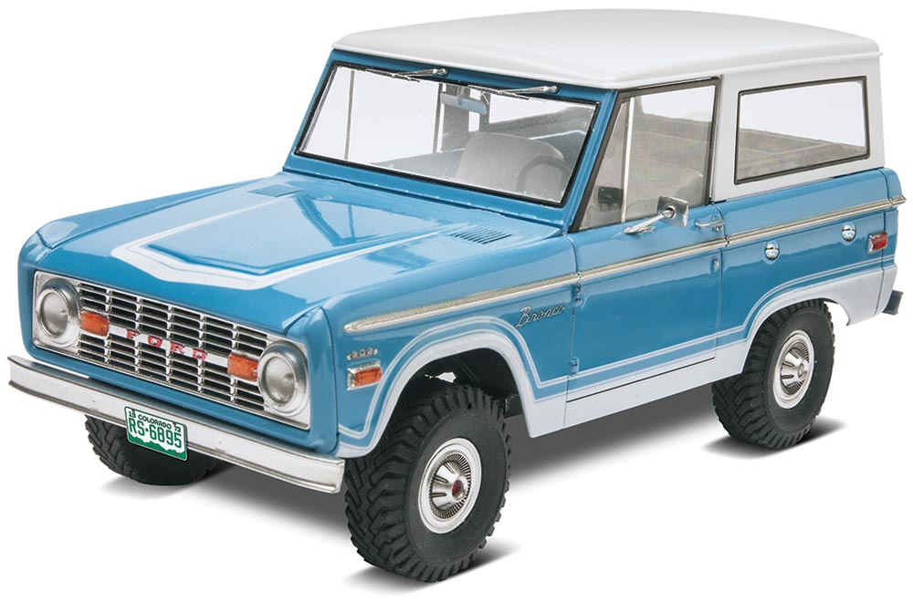 Revell 1/25 Ford Bronco Model FREE SHIPPING