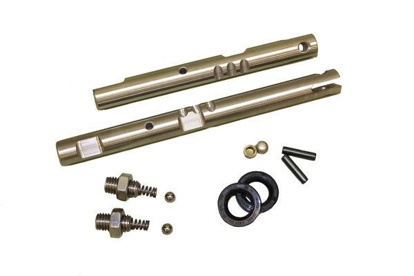 NP205 Stainless Steel Twin Stick Deluxe Shift Rail Kit