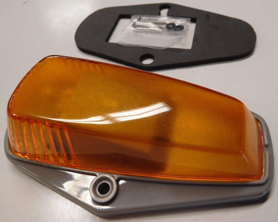 1976-1979 F Series Truck Roof Marker Light, Amber