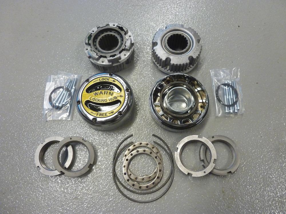 warn premium locking hub  spline  broncograveyardcom