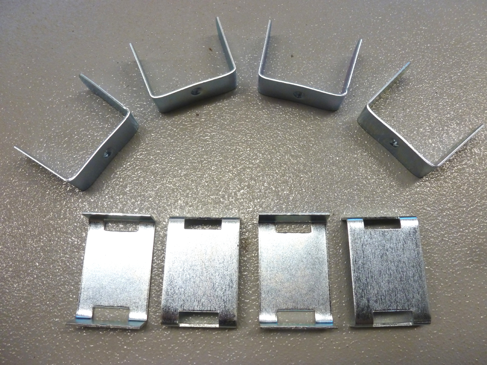 Leaf Spring Bend Clips, 2.5 Spring Set of 4 ...