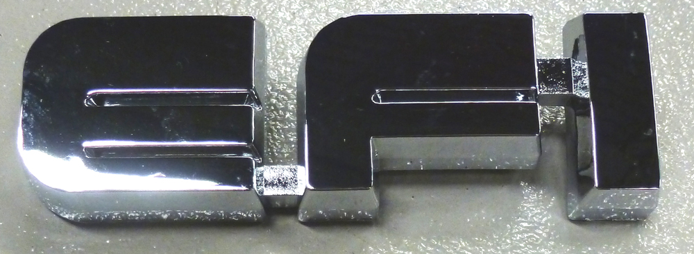 1987 1991 Ford Bronco And F Series Truck Efi Emblem