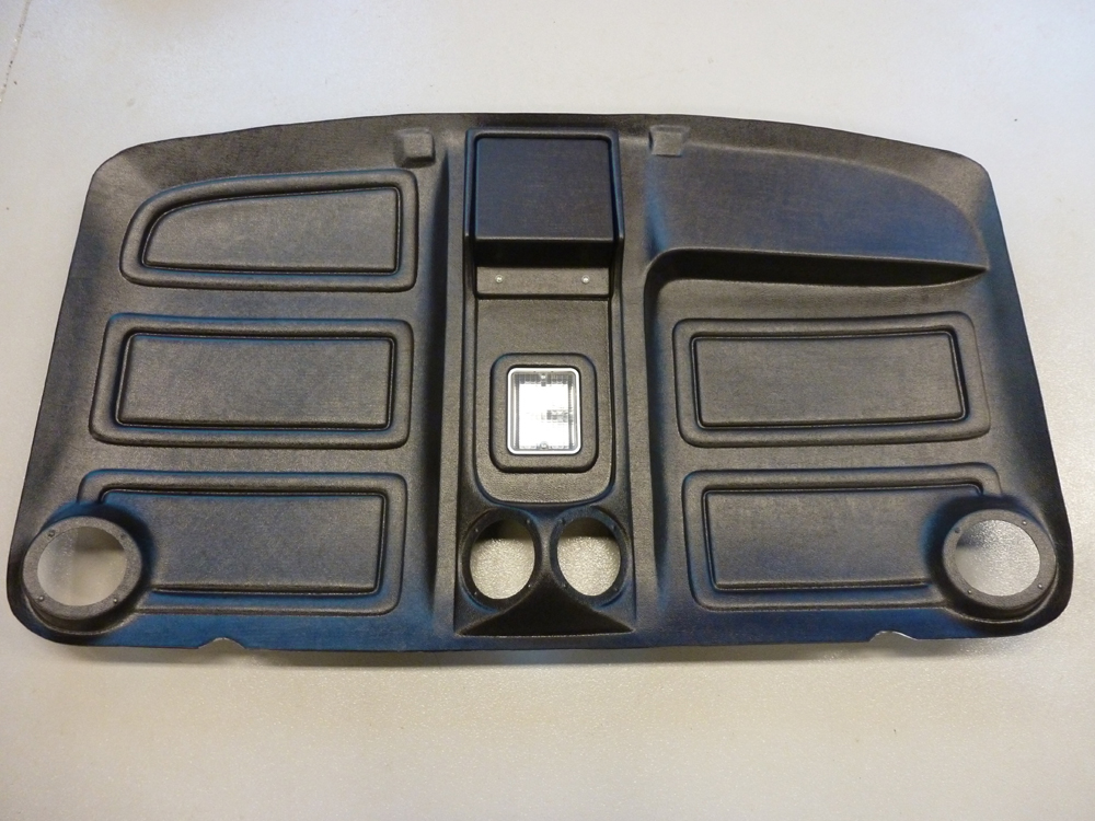 80 96 Truck Abs Black Headliner With Speakers W Factory