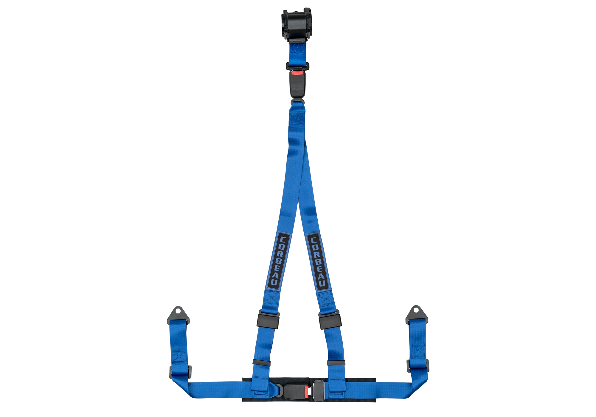 B on 3 Point Retractable Seat Belt Harness