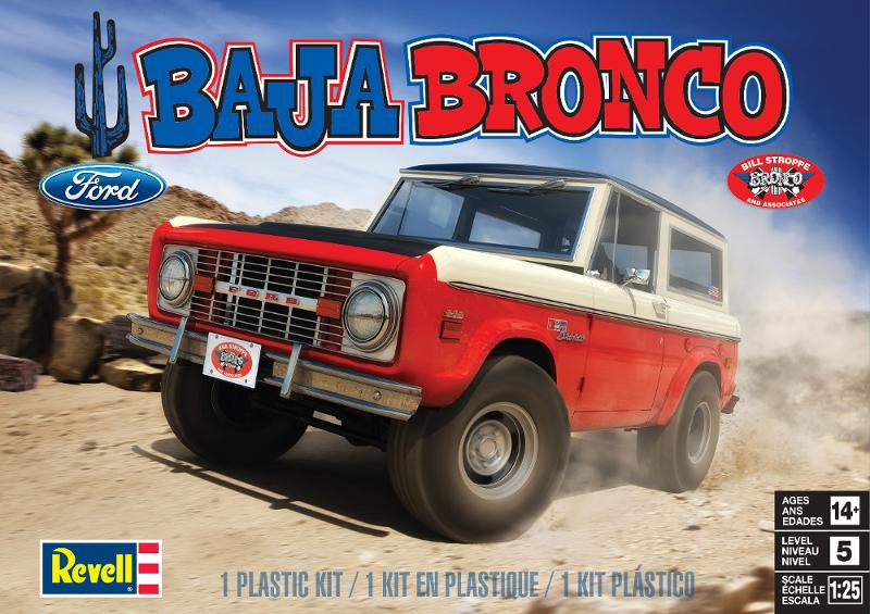 Stroppe Baja Bronco Model Kit Broncograveyard Com