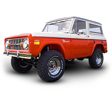 1966-77 Early Bronco