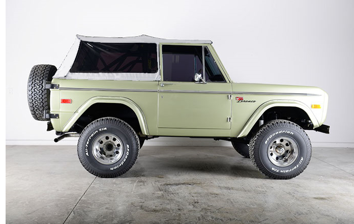 1966 1977 Early Ford Bronco Rampage Soft Tops