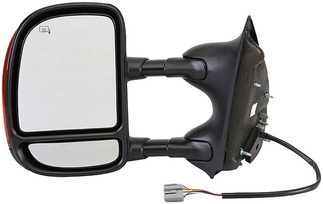 2002 2008 ford super duty side view mirror left power for Mirror 2008 dual audio