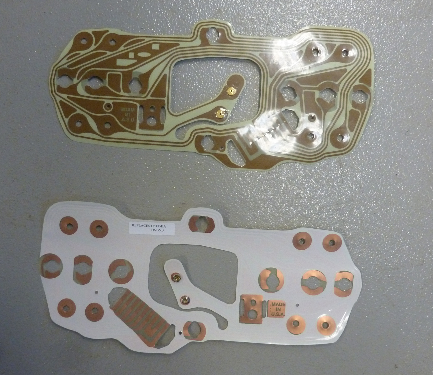 1976-1979 Ford Bronco and F Series Truck Printed Circuit ...