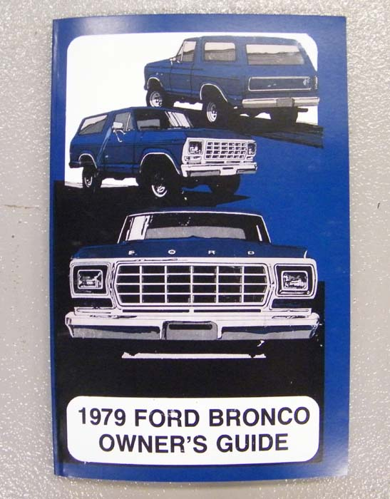 ford bronco owners manual broncograveyardcom