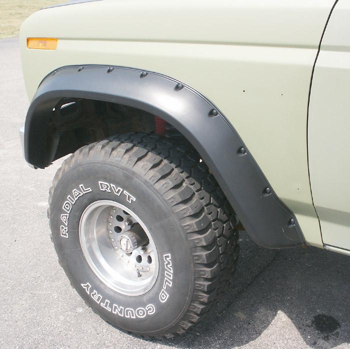 semi truck fenders 80 96 bronco f series truck fender flares