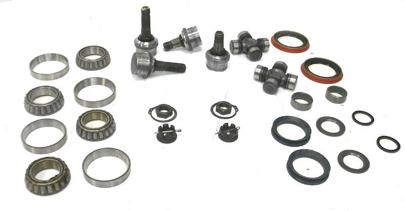 d44 f250 solid axle front maintenance kit