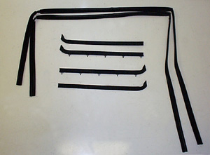 1980 1986 Ford Bronco And F Series Window Weatherstrip Kit