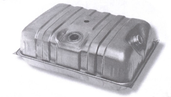 Gas Tank, 25.5 Gallon Steel 80-83