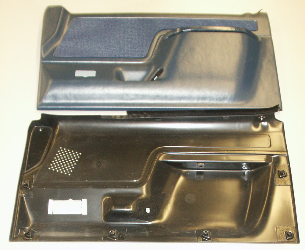 Trim Broncograveyardcom 1980 Ford Bronco Interior 1987 1991 And F Series Truck Door Panels Full Power