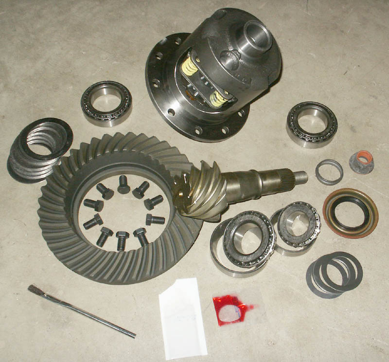 8 8 Rear End Rebuild Kit With Trac Lok Differential