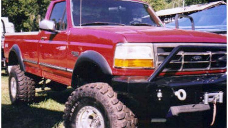Extend A Fender Flares Front 1992 96 Bronco And P U