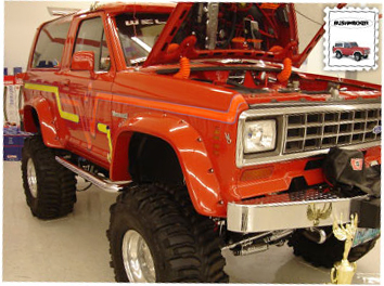 Broncoiicutouts on Bronco Ii Fender Flares