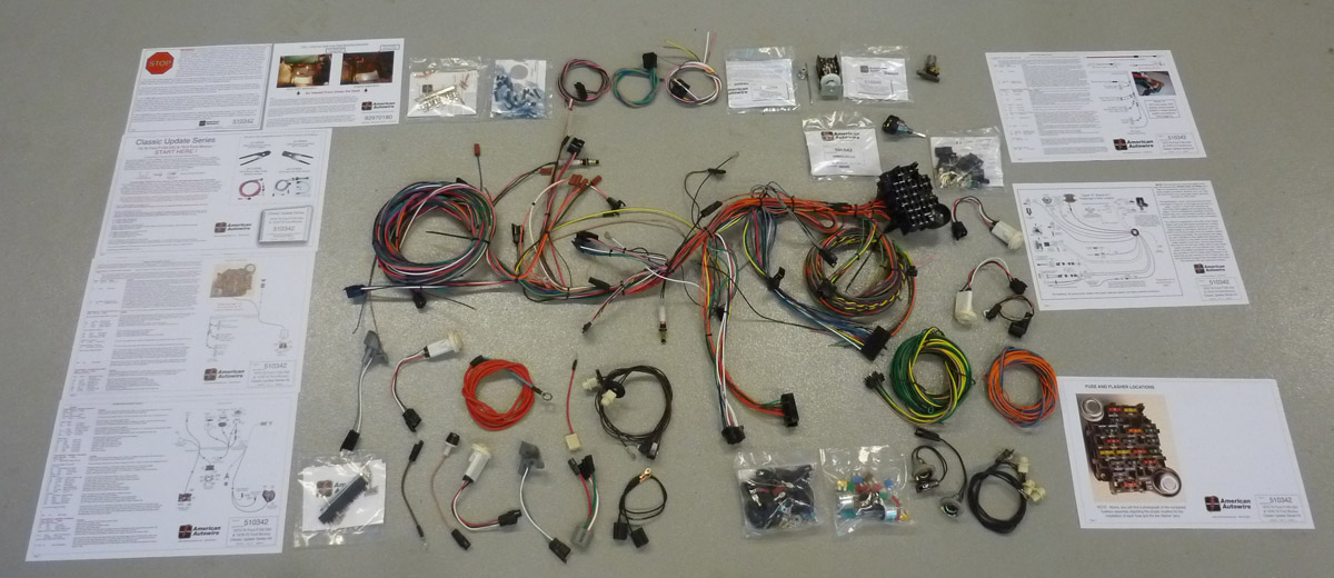 1980-86 Ford Truck American Auto Wire Complete Wiring Harness