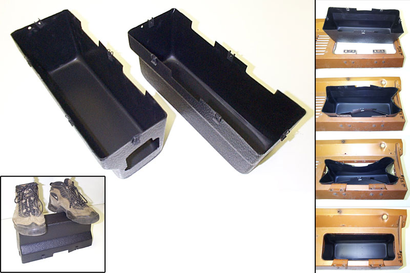 71 To 77 Bronco Plastic Glove Box Liner With Fuse Box Hole