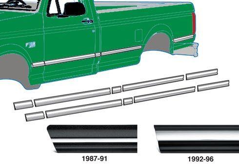 1997 f250 super duty body parts