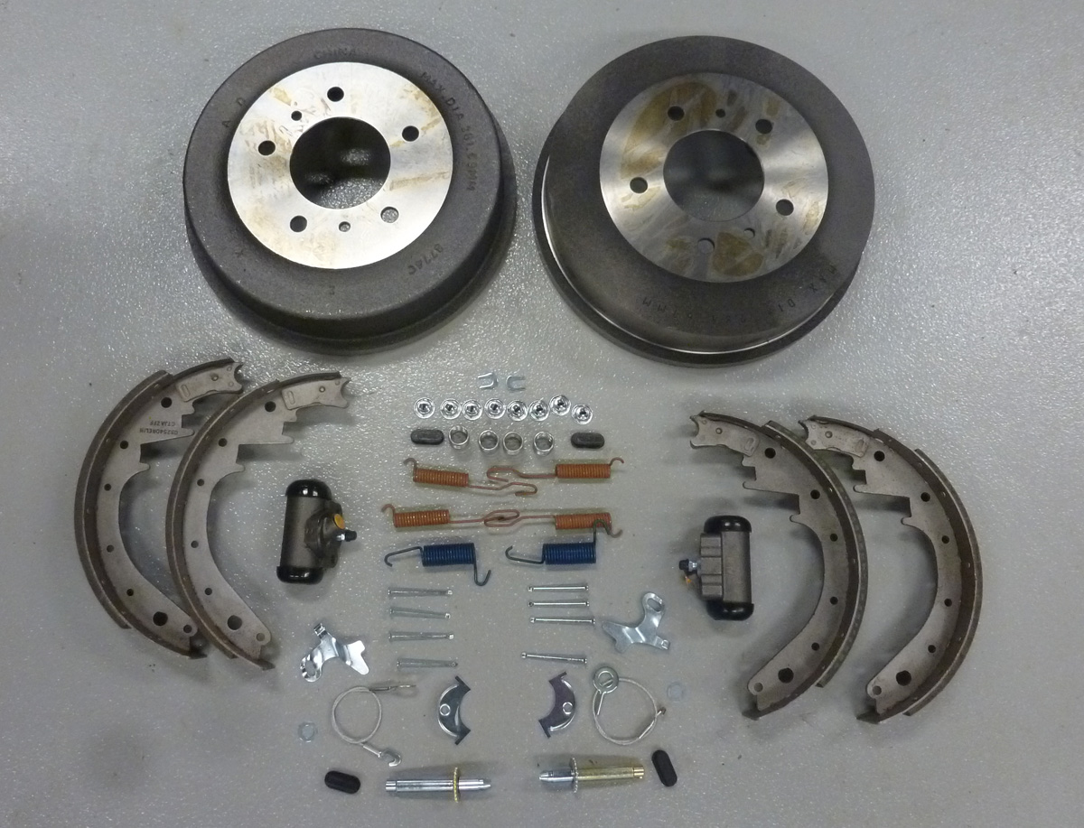 Front Drum Brakes : Ford bronco front drum brake rebuild kit