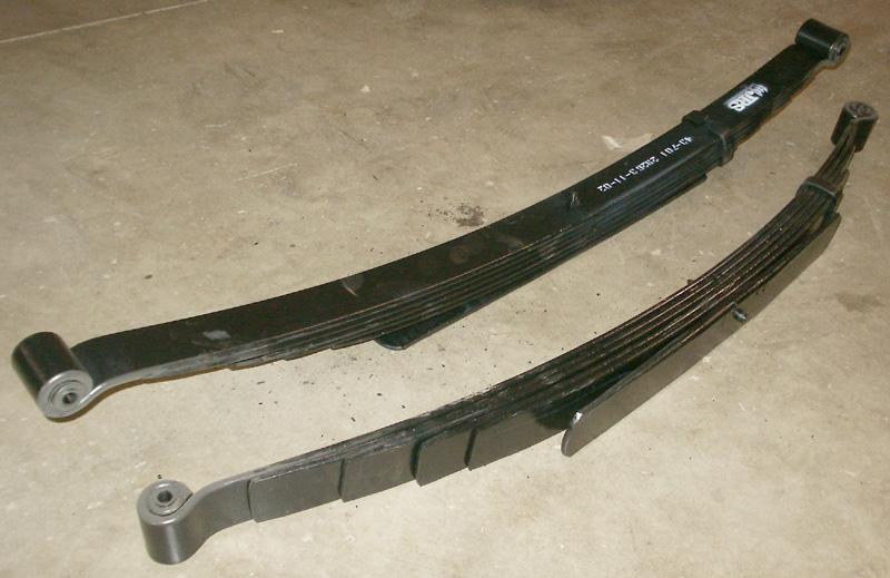 1997 f250 4x4 front leaf springs
