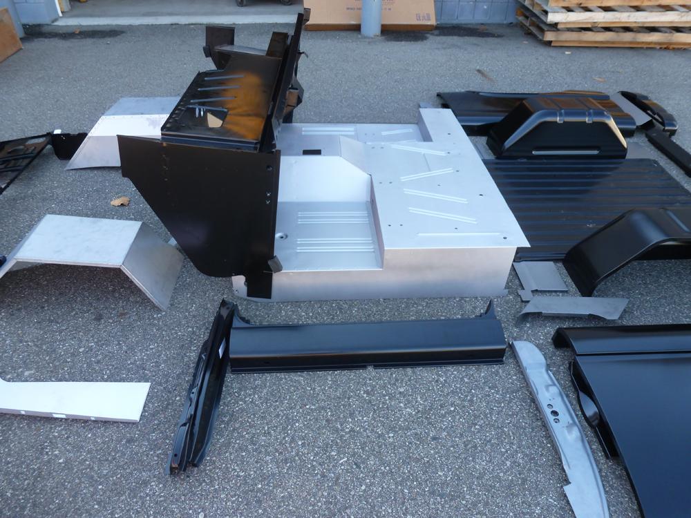 New Ford Bronco >> Ford Bronco Unassembled Body Tub Kit at Bronco Graveyard-Broncograveyard.com